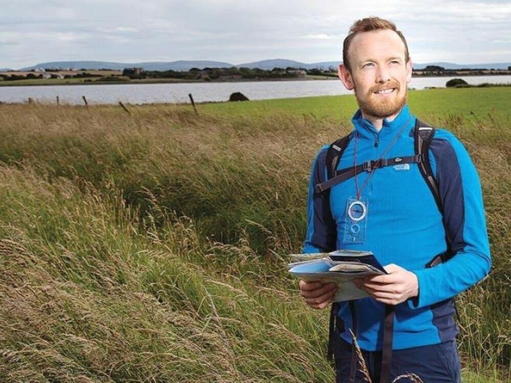 James Byrne Hillwalk Tours' founder