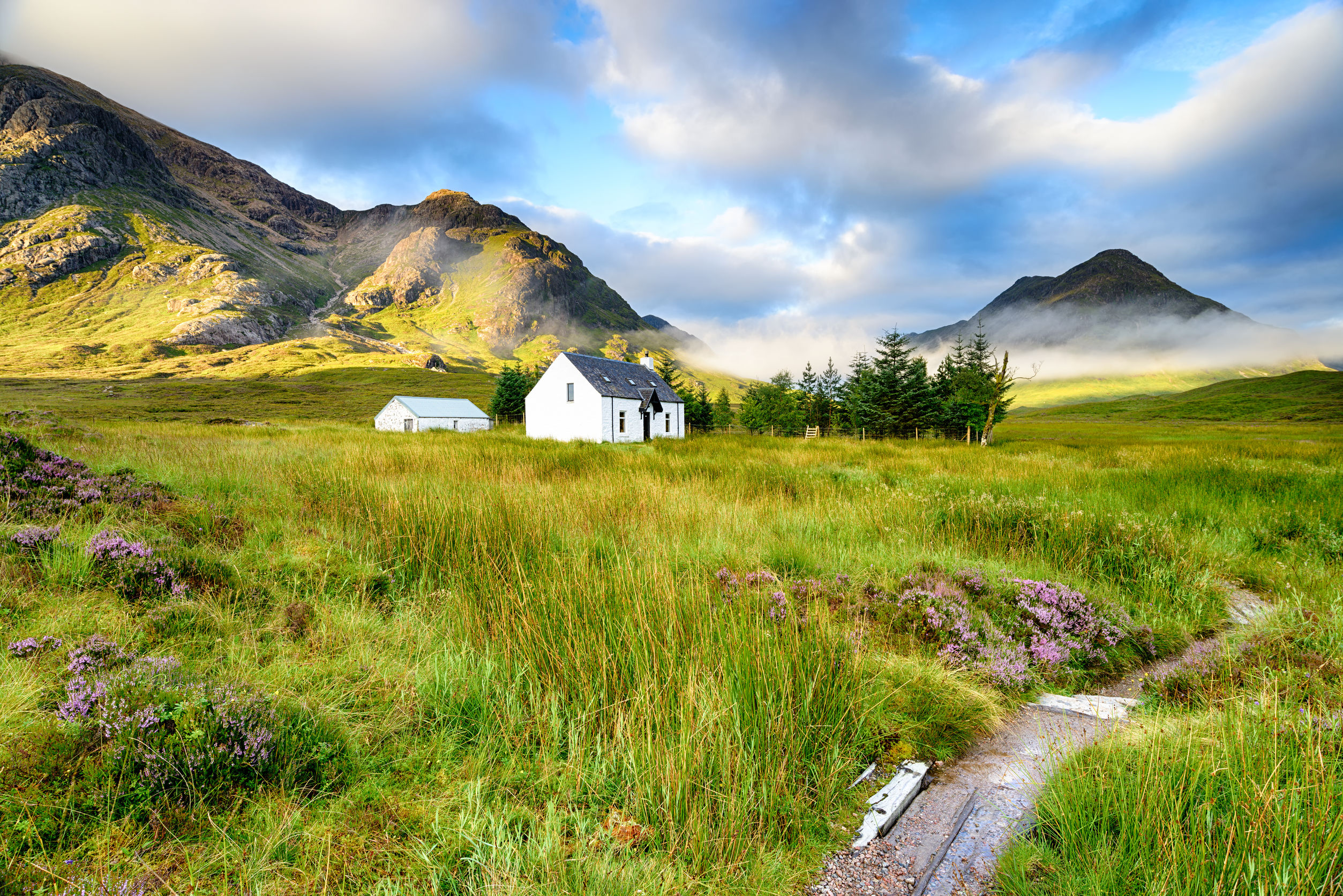 Remote Mountain Cottage At Glencoe